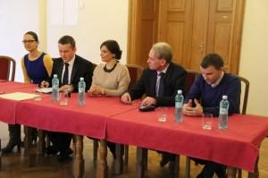 Podpisanie porozumienia owspółpracy WFK DŚ